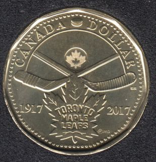 2017 - B.Unc - 100Th Toronto Maple Leafs - Canada Dollar