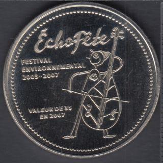 Trois-Pistoles / Les Basques - 2007 - L'Écho-Fête - $3 Dollar de Commerce