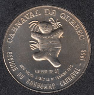 1979 Carnaval de Quebec - Dollar de Commerce