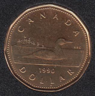 1990 - B.Unc - Canada Huard Dollar