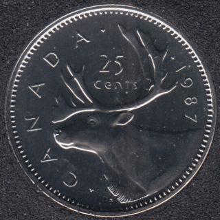 1987 - NBU - Canada 25 Cents