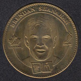 1998 - McDonald - Brendon Shanahan - Shayne Corson - Canada Olympic Team