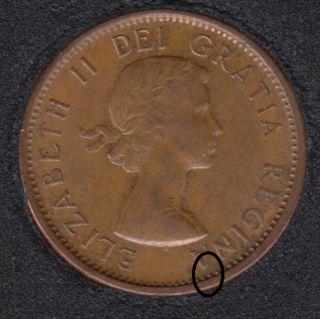 1958 - Break A to Rim - Canada Cent