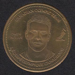 2002 - Coca Cola - Owen Nolan - Equipe Canada Olympique