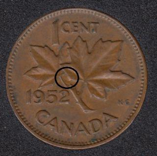 1952 - Half Moon - Canada Cent