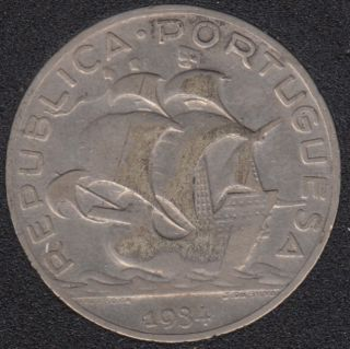 1940 - 5 Escudos - Portugal