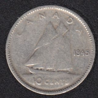 1945 - Canada 10 Cents
