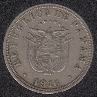 1916 - 2 1/2 Centesimos - Panama
