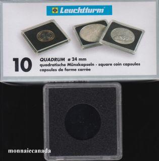 Capsules QUADRUM 24 MM