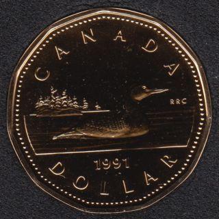 1991 - NBU - Canada Loon Dollar