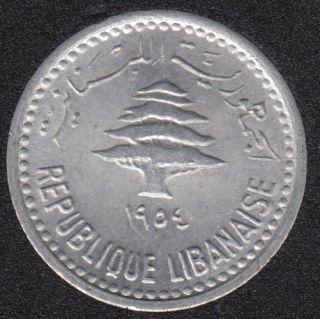 1954 - 5 Piastres - B.Unc- Liban