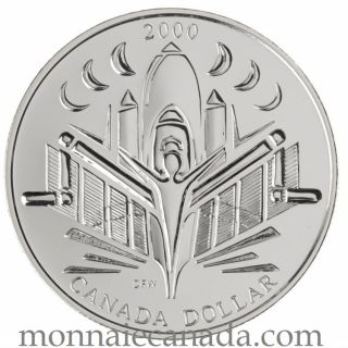 2000 BU Silver $ 'Voyage of Discovery'