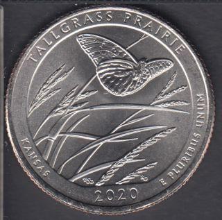 2020 P - B.Unc - Tallgrass Prairie - 25 Cents