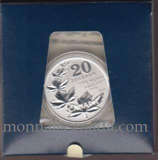 2011 - $20 for $20 - Fine Silver Commemorative Coin - Maple Leaf