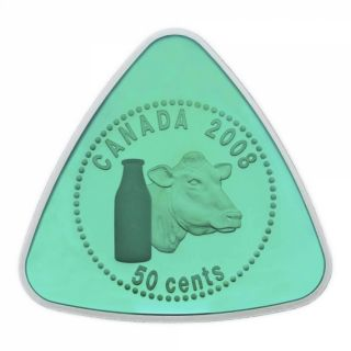 2008 - sterling silver triangle milk delivery