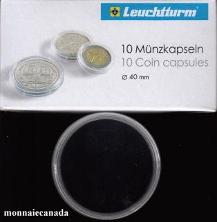 COIN CAPSULES 40MM