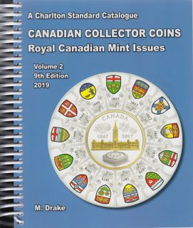 2019 Charlton Canadian Collector Coins Vol 2 - 9th Edition - Royal Canadian Mint Issues