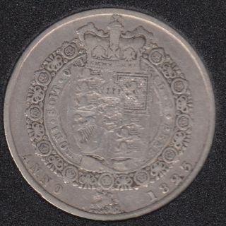 1823 - 1/2 Crown - Silver