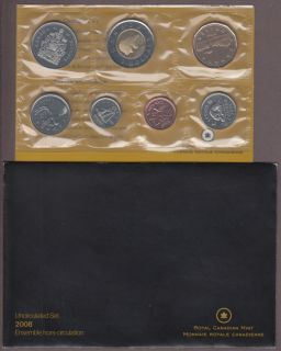2008 BRILLIANT UNCIRCULATED SET