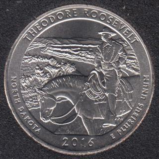 2016 D - T. Roosevelt - 25 Cents