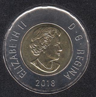 2018 - B.Unc - Canada 2 Dollars
