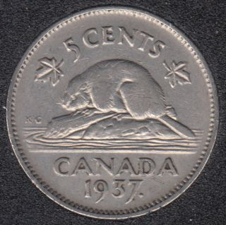 1937 - Canada 5 Cents