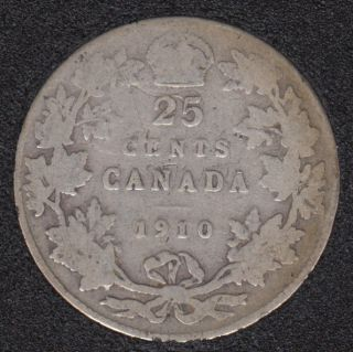 1910 - Canada 25 Cents