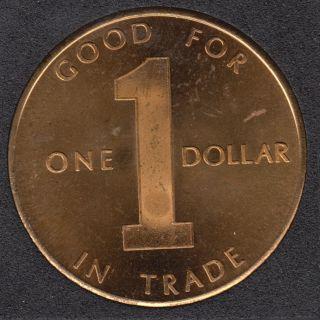1799 - 1974 - Three Bear Inn - Marathon New York - Good for one $1 in Trade