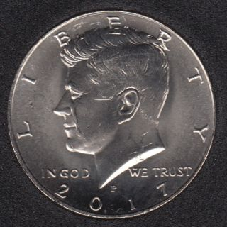 2017 P - Kennedy - 50 Cents