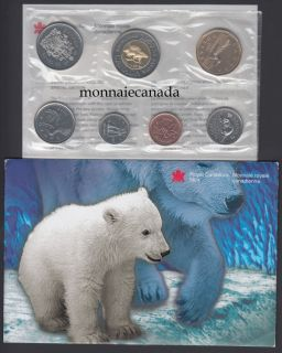 2000 BRILLIANT UNCIRCULATED SET - POLAR BEAR with CUBS