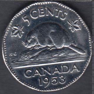 1953 - NSF - B.Unc - Canada 5 Cents