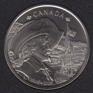 2008 - 1608 - Quebec Medaillon (Champlain)