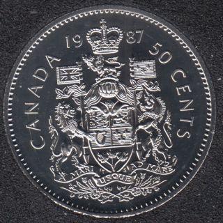 1987 - NBU - Canada 50 Cents