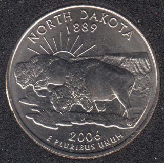 2006 P - North Dakota - 25 Cents