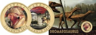 2010 -50 Cents - Daspletosaurus Torosus Dinosaur & Cards