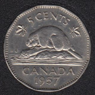 1957 - Canada 5 Cents
