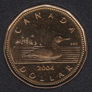 2004 - B.Unc - Canada Loon Dollar