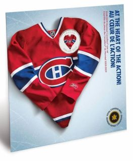 2008 2009 Montreal Canadiens Coin set - $1 Dollar Coloured