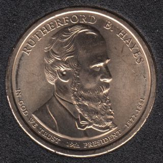 2011 D - R.B. Hayes - 1$