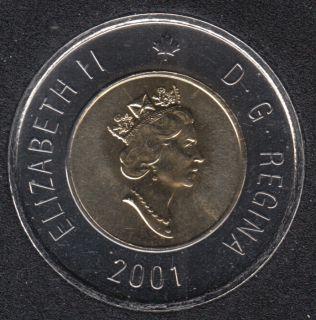 2001 - NBU - Canada 2 Dollars