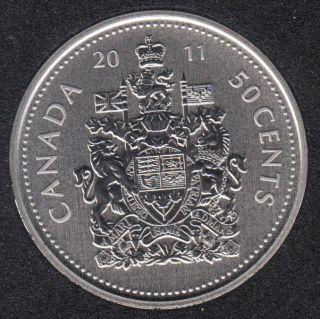 2011 - Specimen - Canada 50 Cents