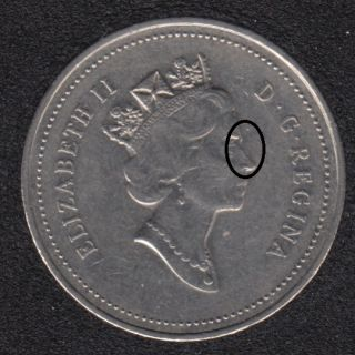 1999 - Double Queen - Canada 5 Cents