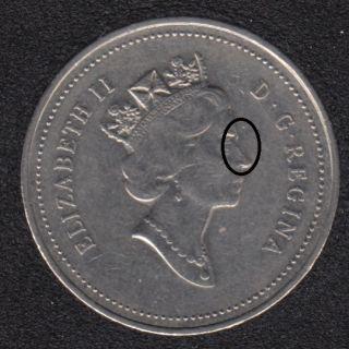 1999 - Double Effigie - Canada 5 Cents