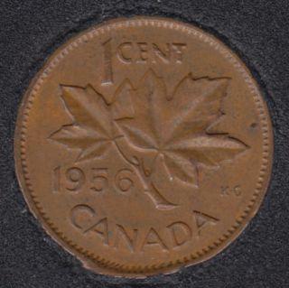 1956 - Break B to Rim - Canada Cent