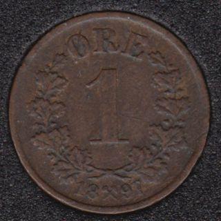 1897 - 1 Ore - Norvège