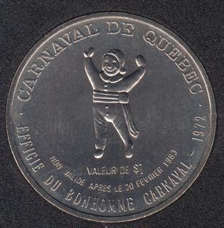 1983 Carnaval de Quebec - Dollar de Commerce