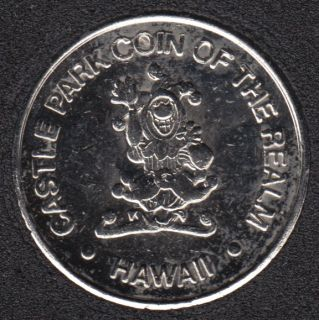 Arcade - Castle Park of the Realm - Hawaii - Gaming Token