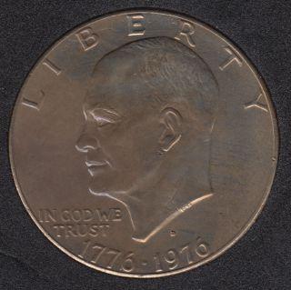 1976 - 1776 D - Eisenhower - Var 2 - Dollar