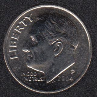 2004 P - Roosevelt - B.Unc - 10 Cents