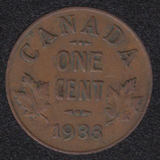 1933 - VF - Canada Cent